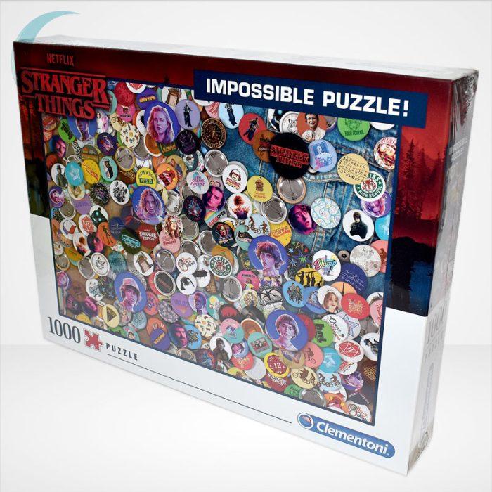 Stranger Things - A lehetetlen puzzle (Clementoni Impossible 1000 db-os kirakó), balról