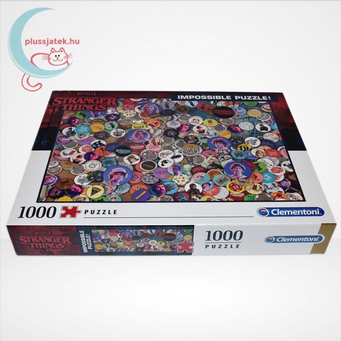 Stranger Things - A lehetetlen puzzle (Clementoni Impossible 1000 db-os kirakó), oldalról