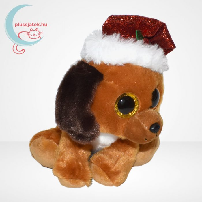 TY Beanie Boos Howlidays csillogó szemű karácsonyi plüss kutya, jobbról