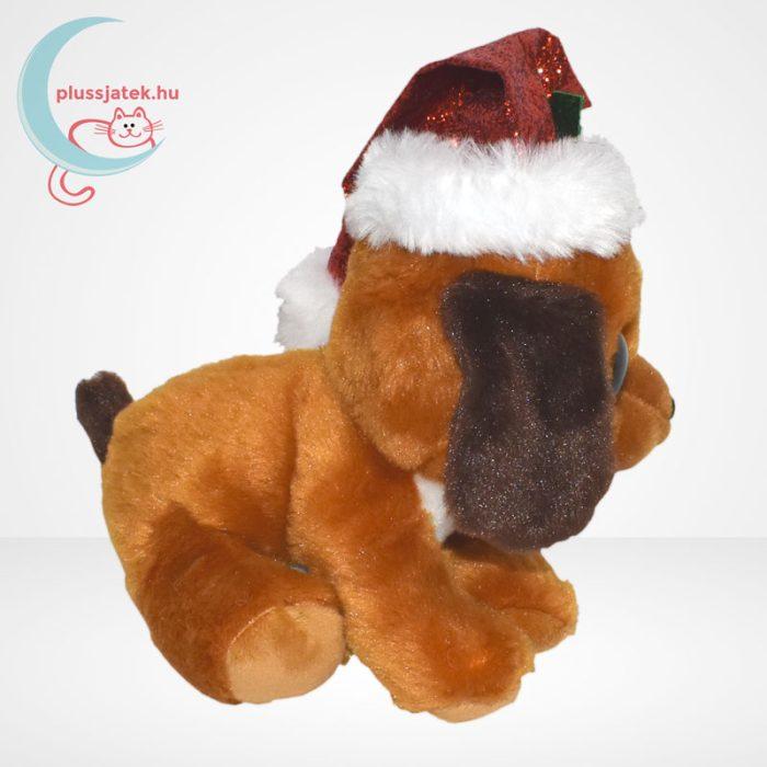 TY Beanie Boos Howlidays csillogó szemű karácsonyi plüss kutya, oldalról