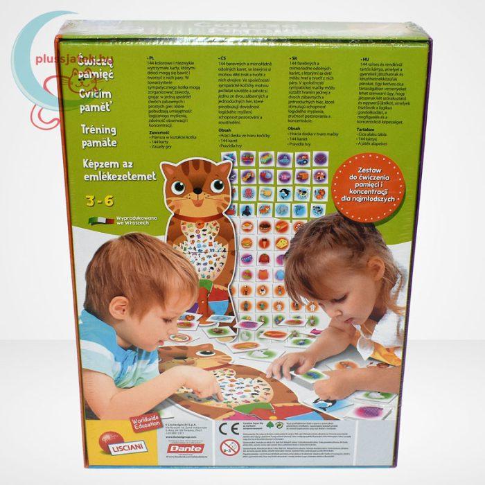Carotina - Képzem az emlékezetemet fejlesztőjáték 3-6 éveseknek, hátulról
