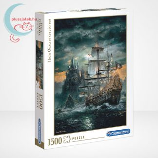 Clementoni 31682 - A kalózhajó (The Pirate Ship) 1500 db-os puzzle