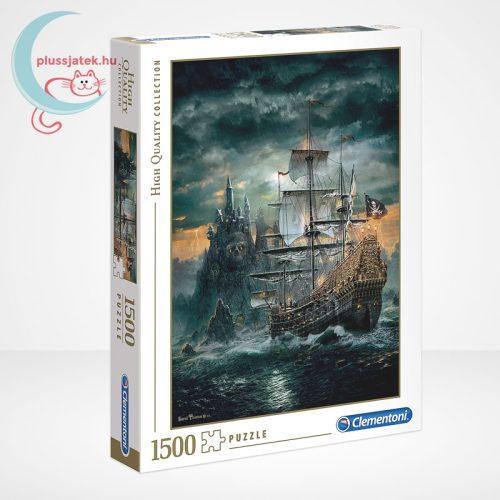 Clementoni 31682 - A kalózhajó (The Pirate Ship) 1500 db-os puzzle