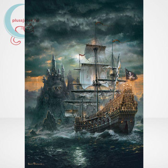 Clementoni 31682 - A kalózhajó (The Pirate Ship) 1500 db-os puzzle, a kép
