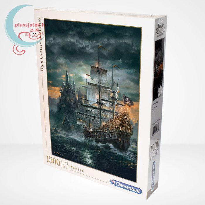 Clementoni 31682 - A kalózhajó (The Pirate Ship) 1500 db-os puzzle, balról