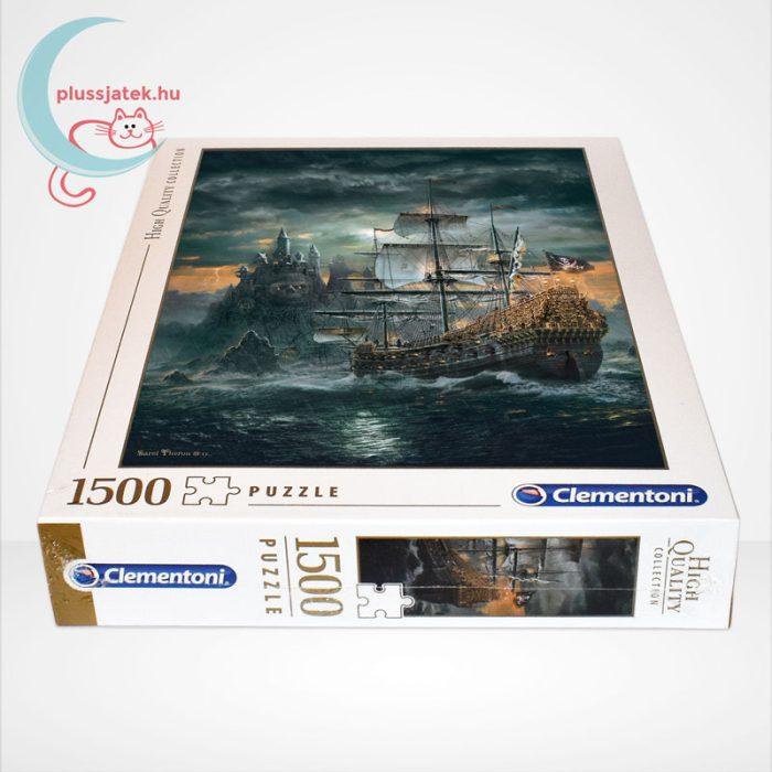 Clementoni 31682 - A kalózhajó (The Pirate Ship) 1500 db-os puzzle, oldalról