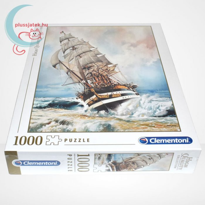 Clementoni 39415 - Amerigo Vespucci 1000 db-os puzzle (High Quality Collection), oldalról