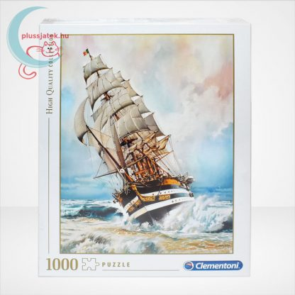 Clementoni 39415 - Amerigo Vespucci 1000 db-os puzzle (High Quality Collection), szemből