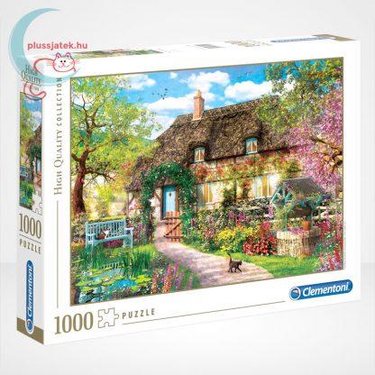 Clementoni 39520 - Az öreg kunyhó (The Old Cottage) 1000 db-os puzzle (High Quality Collection)