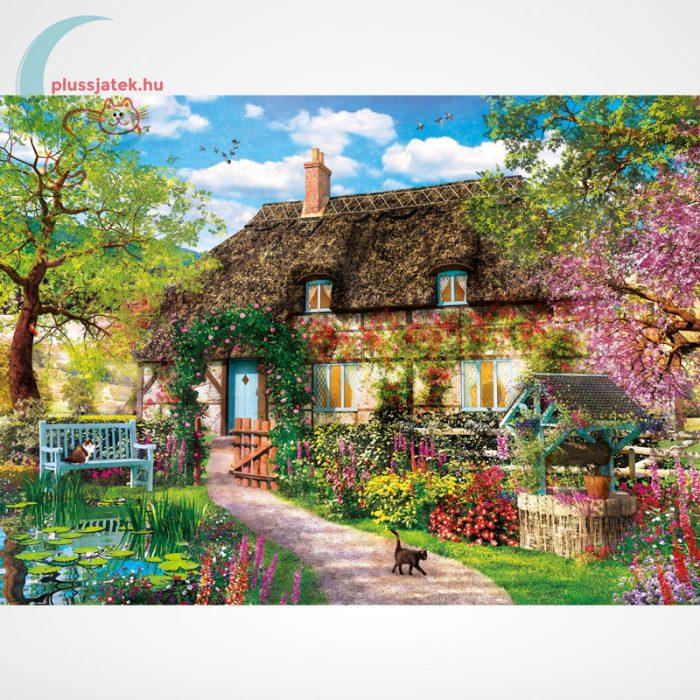 Clementoni 39520 - Az öreg kunyhó (The Old Cottage) 1000 db-os puzzle (High Quality Collection), a kép