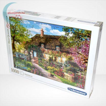 Clementoni 39520 - Az öreg kunyhó (The Old Cottage) 1000 db-os puzzle (High Quality Collection), balról