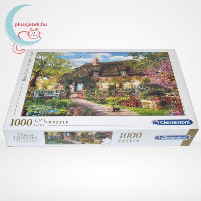 Clementoni 39520 - Az öreg kunyhó (The Old Cottage) 1000 db-os puzzle (High Quality Collection), oldalról