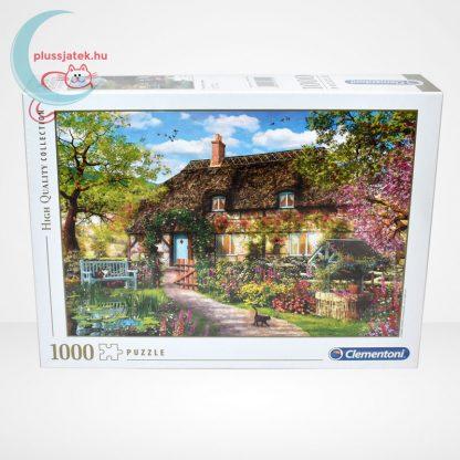 Clementoni 39520 - Az öreg kunyhó (The Old Cottage) 1000 db-os puzzle (High Quality Collection), szemből