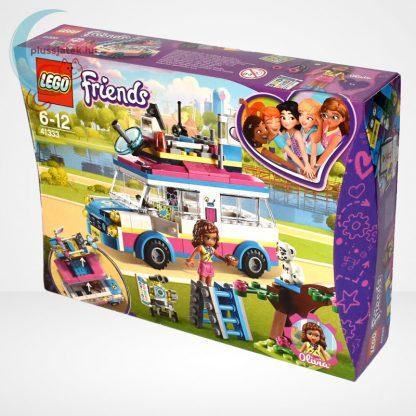 LEGO Friends 41333 - Olivia különleges felderítő járműve, balról