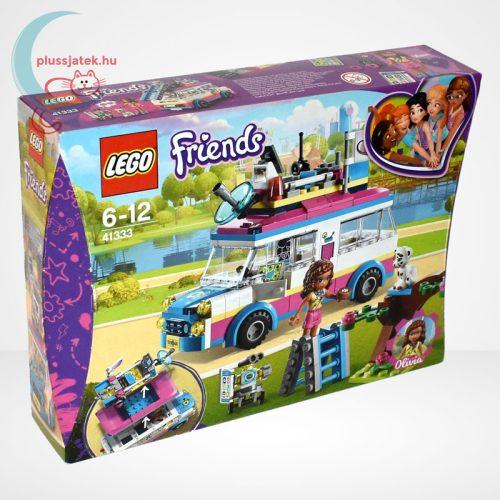 LEGO Friends 41333 - Olivia különleges felderítő járműve, jobbról