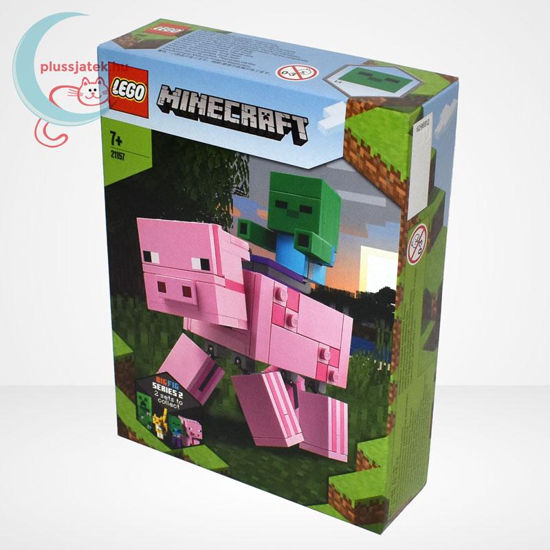 LEGO® Minecraft 21157 - BigFig Malac Zombibabával, balról
