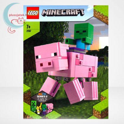 LEGO® Minecraft 21157 - BigFig Malac Zombibabával, előlap