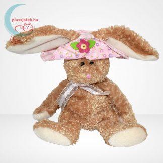 TY Beanie Babies - Sunbonnet plüss nyuszi virágos kalapban