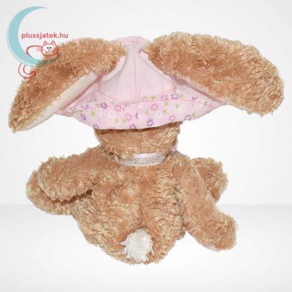 TY Beanie Babies - Sunbonnet plüss nyuszi virágos kalapban, hátulról