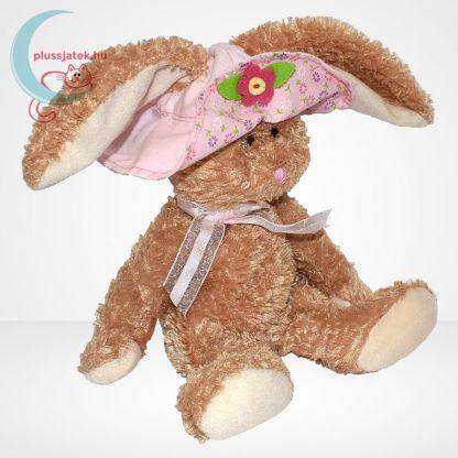 TY Beanie Babies - Sunbonnet plüss nyuszi virágos kalapban, jobbról
