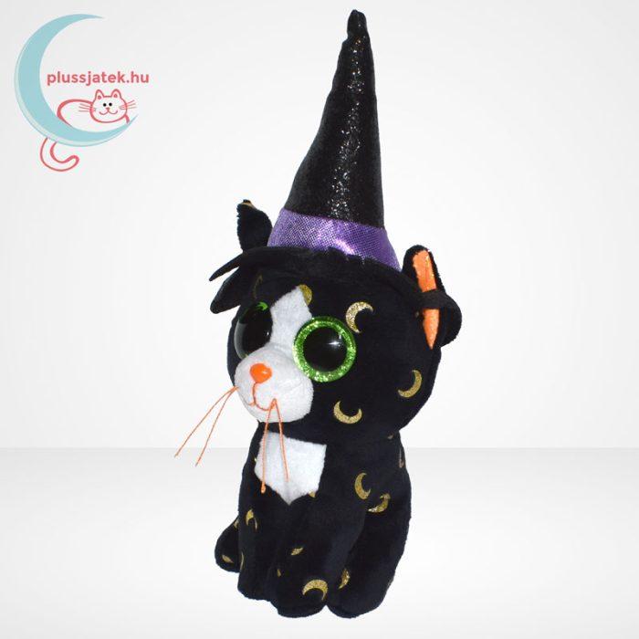 TY Beanie Boos - Pandora a boszorkány plüss cica, balról