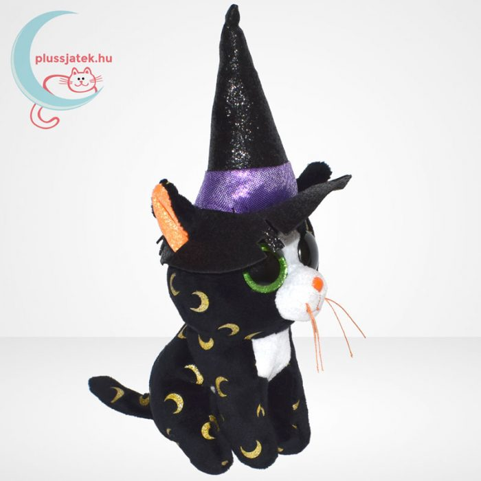 TY Beanie Boos - Pandora a boszorkány plüss cica, jobbról