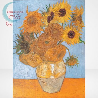 Van Gogh - Váza tizenkét napraforgóval (Sun Flowers) 1000 db-os puzzle, Clementoni Museum Collection 31438, a kép