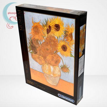 Van Gogh - Váza tizenkét napraforgóval (Sun Flowers) 1000 db-os puzzle, Clementoni Museum Collection 31438, jobbról