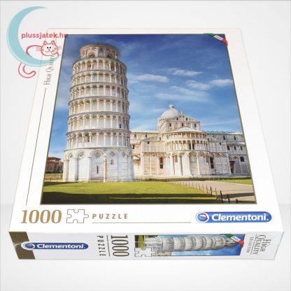 A pisai ferde torony puzzle (Pisa - 39455) 1000 db-os puzzle, oldalról
