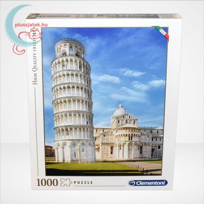 A pisai ferde torony puzzle (Pisa - 39455) 1000 db-os puzzle, szemből