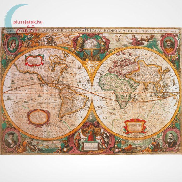 Antik térkép 1000 db-os puzzle (Old Map, Clementoni 31229 - High Quality Collection), a kép