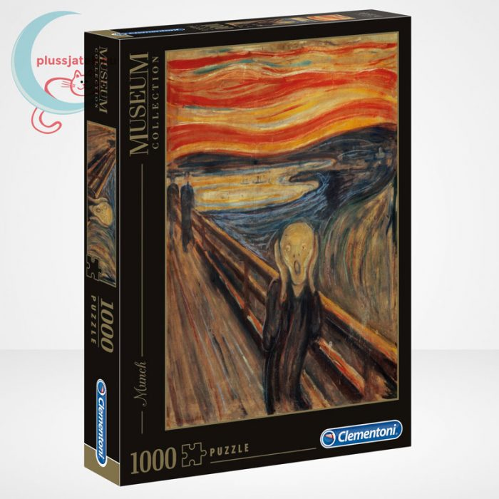 Edvard Munch - A sikoly (The Scream) 1000 db-os puzzle, Clementoni Museum Collection 39377