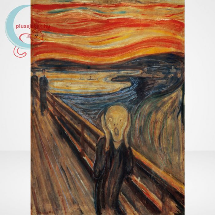 Edvard Munch - A sikoly (The Scream) 1000 db-os puzzle, Clementoni Museum Collection 39377, a kép