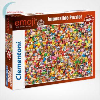 Emoji - A lehetetlen puzzle (Clementoni Impossible 1000 db-os kirakó)