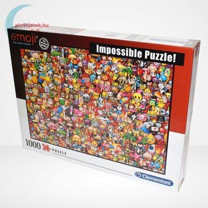Emoji - A lehetetlen puzzle (Clementoni Impossible 1000 db-os kirakó), balról