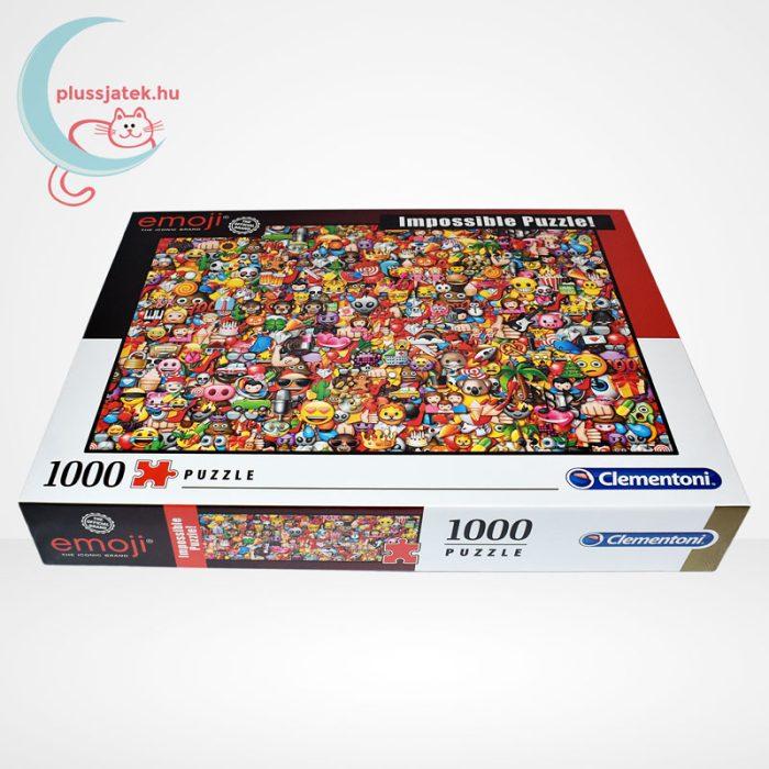 Emoji - A lehetetlen puzzle (Clementoni Impossible 1000 db-os kirakó), oldalról