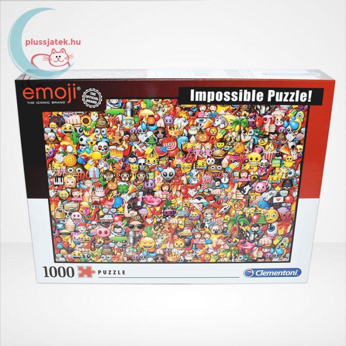 Emoji - A lehetetlen puzzle (Clementoni Impossible 1000 db-os kirakó), szemből