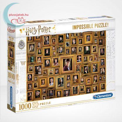 Harry Potter - A lehetetlen puzzle (Clementoni Impossible 1000 db-os kirakó)