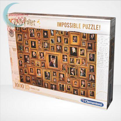 Harry Potter - A lehetetlen puzzle (Clementoni Impossible 1000 db-os kirakó), balról