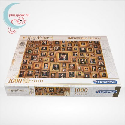 Harry Potter - A lehetetlen puzzle (Clementoni Impossible 1000 db-os kirakó), oldalról