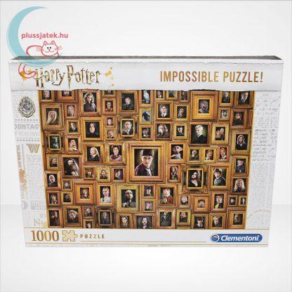 Harry Potter - A lehetetlen puzzle (Clementoni Impossible 1000 db-os kirakó), szemből