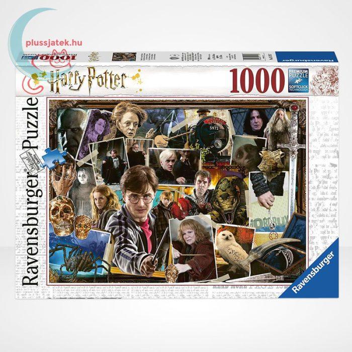 Harry Potter vs. Voldemort 1000 darabos Ravensburger puzzle
