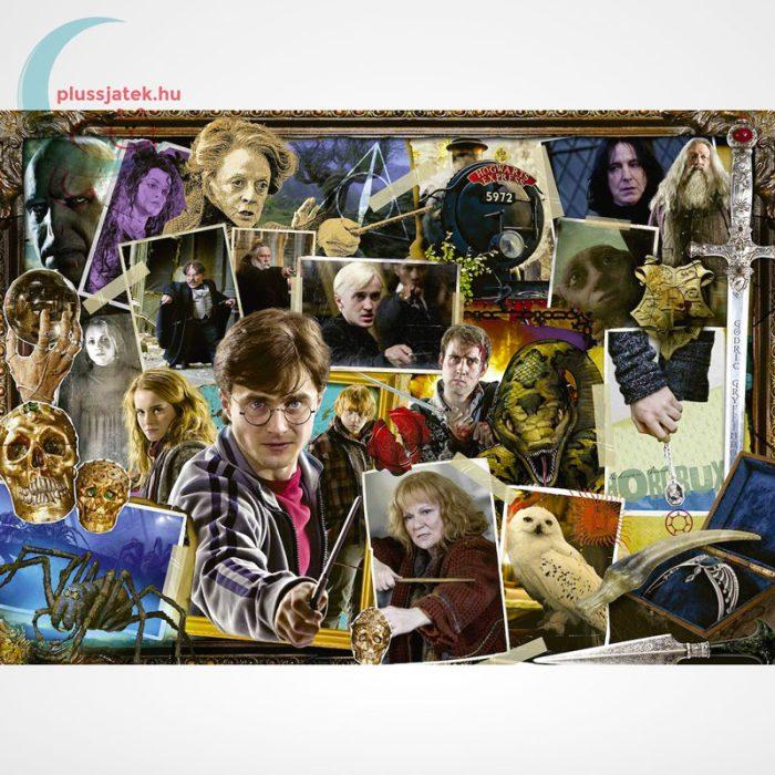 Harry Potter vs. Voldemort 1000 darabos Ravensburger puzzle, a kép