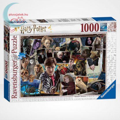 Harry Potter vs. Voldemort 1000 darabos Ravensburger puzzle, balról