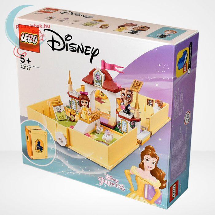 LEGO® Disney 43177 - Belle mesekönyve, balról