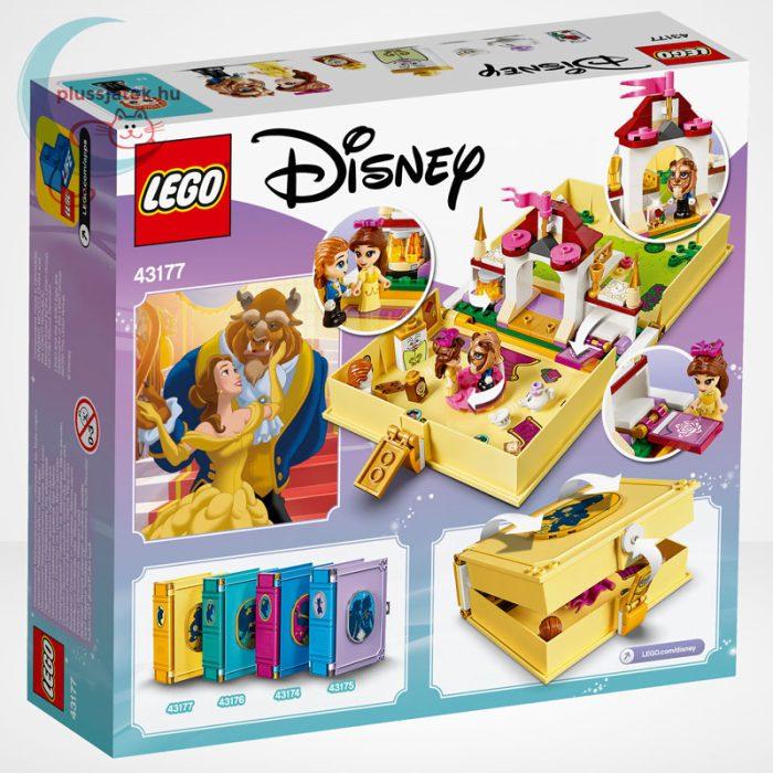 LEGO® Disney 43177 - Belle mesekönyve, hátoldala