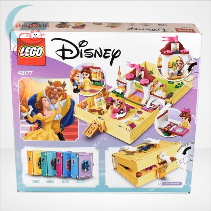LEGO® Disney 43177 - Belle mesekönyve, hátulról