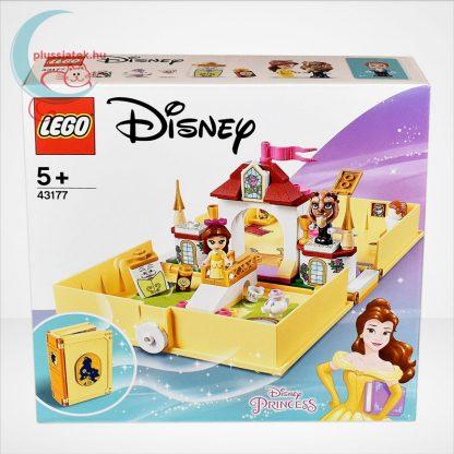 LEGO® Disney 43177 - Belle mesekönyve, szemből