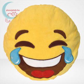 Sírva nevetős emoji plüss párna