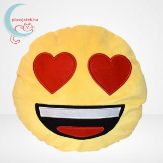 Szerelmes plüss emoji párna